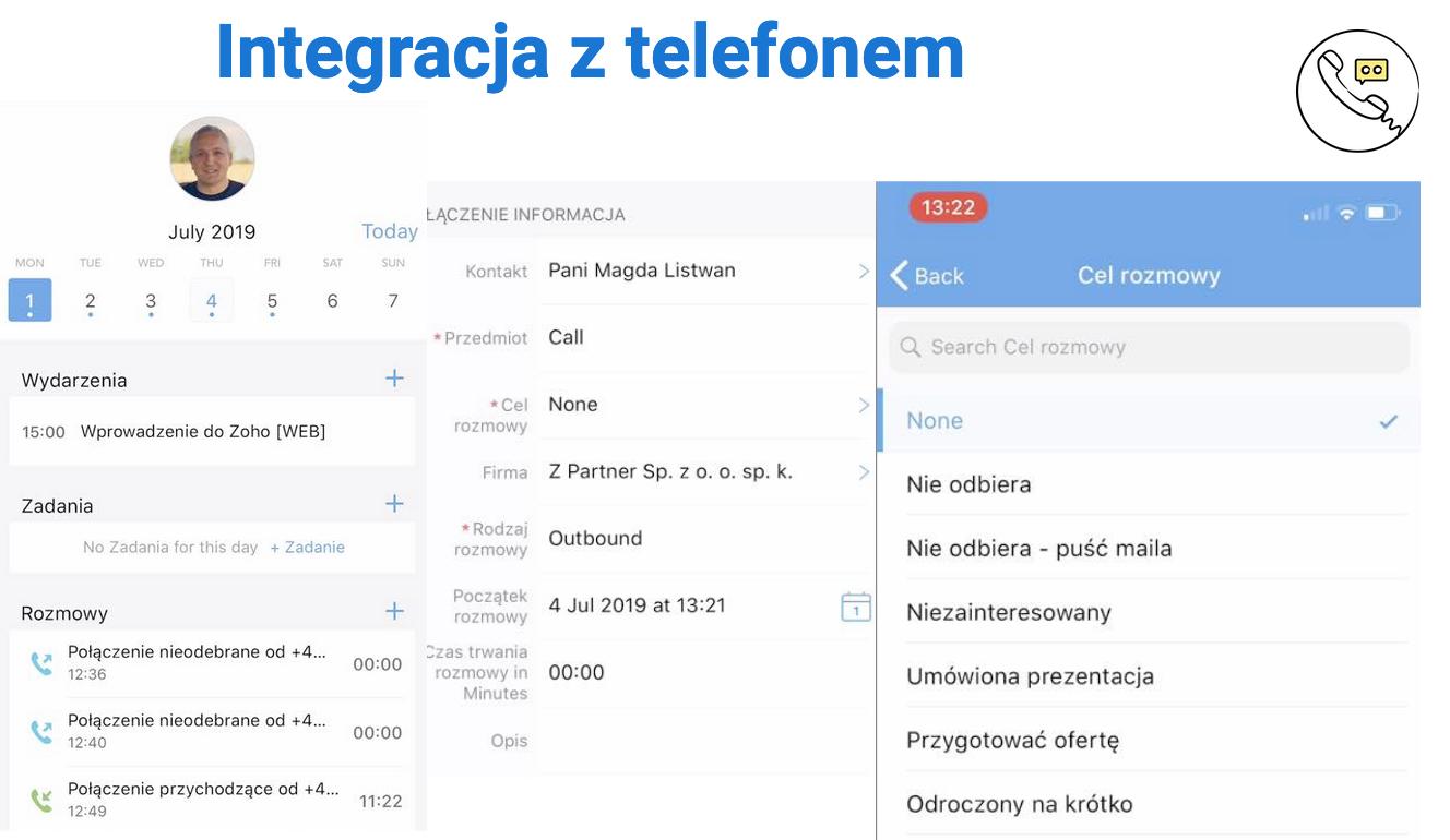 Course Image Aplikacja mobilna Zoho CRM i praca zdalna